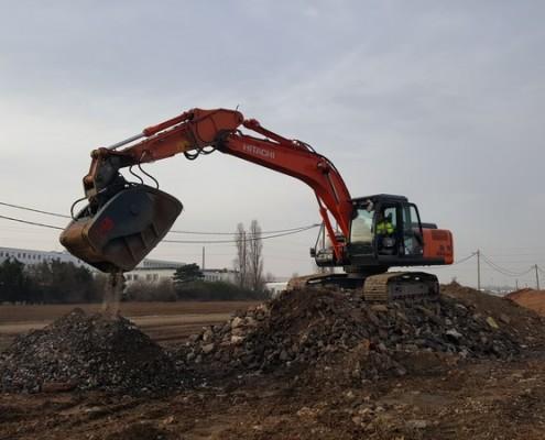 maxiloc pelle 25 tonnes