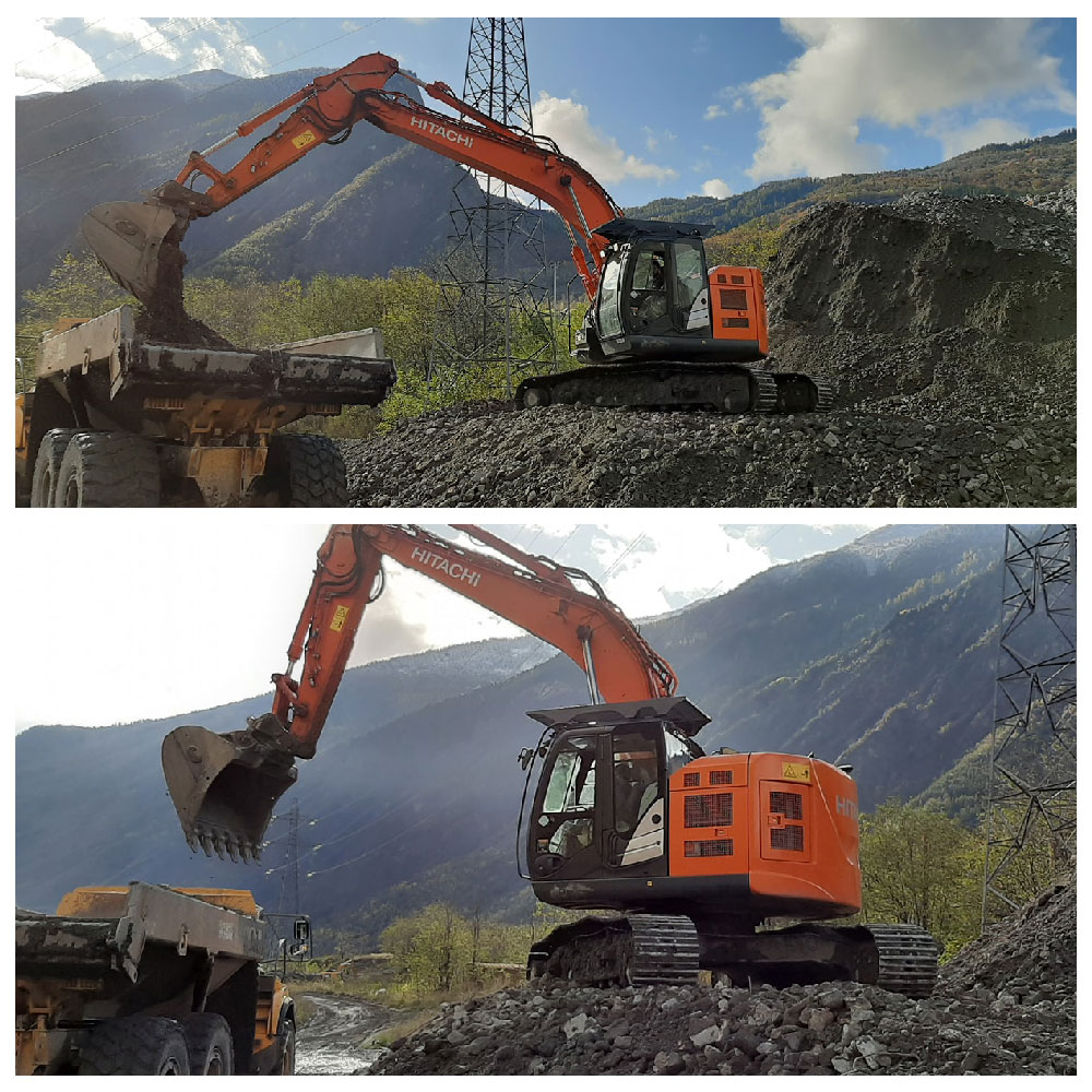Location pelle Hitachi ZX225